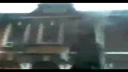 حريق قسم طنطا