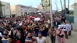 يوم الشهداء بالمنصورة ..أكثر من نصف مليون متظاهر.. أسبوع الصمود