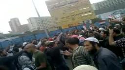 مظاهرات المصابين بميدان التحرير
