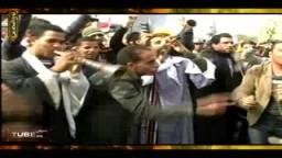 جميع فئات الشعب المصرى تتوافد على ميدان التحرير للتأكيد على إسقاط مبارك ونظامه