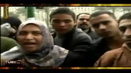سيدة مصرية  بميدان التحرير تفضح سياسة مبارك وتجويع الشعب .. حصرياً