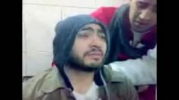 تامر حسنى يبكى بعد ضربه و طرده من ميدان التحرير