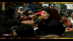 سيدة مصرية مسنة (85 عاماً ) معتصمة بميدان التحرير تطالب برحيل مبارك