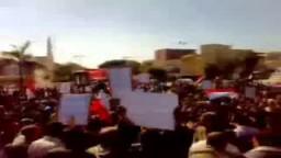 مظاهرات الغضب في سوهاج مطالبة برحيل مبارك