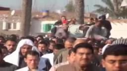 جنازة الشهيد يحي الجزار شهيد التحرير من البحيرة