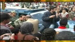 حصرياً .. كاميرا إخوان تيوب ترصد تضامن الشعب مع الجيش لإخلاء ميدان التحرير