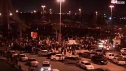 آلاف المتظاهرين يواصلون الاعتصام وسط عاصمة البحرين