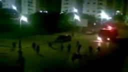 اشتباكات بين المتظاهرين والشرطة في بنغازي بليبيا