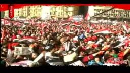 رسالة المتظاهرون بميدان التحرير فى جمعة النصر للمجلس العسكرى الذى يدير شؤن البلاد