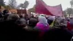 مظاهرات الأحد 20 فبراير في المغرب العربي