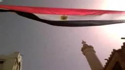 شباب الاسكندرية يربطون المسجد والكنيسة بعلم مصر