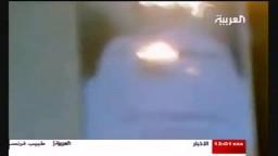 إحراق صور القذافي في ليبيا