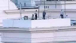 شاهد قناصة حبيب العادلي على سطح وزارة الداخلية