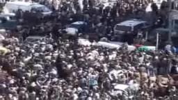 تشييع شهداء معركة المطار .. ليبيا