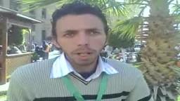 طلاب جامعة القاهرة يرون احداث البلطجة