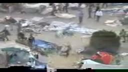 الجيش وشباب الثورة يخلون ميدان التحرير من البلطجية وفلول النظام البائد