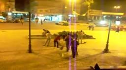 حملة نظافة بميدان الاستاد برعايه شباب الإخوان واسرهم