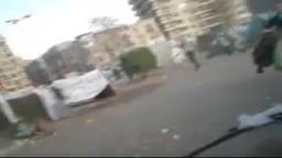 فض اعتصام البلطجية بميدان التحرير