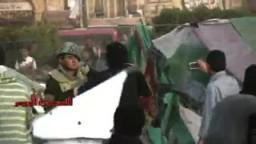 فض اعتصام ميدان التحرير - من البلطجية وفلول النظام البائد