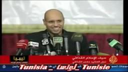 سيف الاسلام القذافي يهين العرب ويقول طزفي العرب
