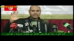 سيف الاسلام القذافي يقول-- طظ في العرب