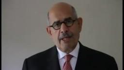 رأي دكتور محمد البرادعي فى التعديلات الدستورية