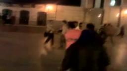 فض اعتصام كلية اعلام بالقوة