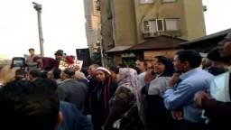 مظاهرات أمام ماسبيروا لتطهير المؤسسات الإعلامية وطرد عبد اللطيف المناوي