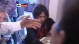 إيمان العبيدي إحدى ضحايا نظام القذافي