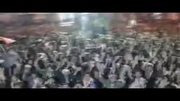 أحذية  اليمنيين ترد على خطاب الرئيس اليمني على صالح