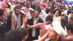 أغنية الأضرعي- معنويات مرتفعة في ساحة التغيير باليمن