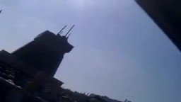 إزالة صنم حافظ الأسد في  مدينة درعا السورية