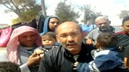 معاناة فى مخيم اللاجئين المصريين فى مدينة مصراته _ليبيا
