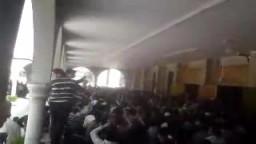جمعة الشهداء بسوريا -- اعتصام جامع الرفاعي