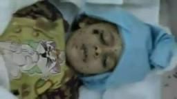 كتائب القذافى تقتل الطفله عائشه سويب  مدينة مصراته _ليبيا