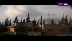 قناصة الأمن السوري في درعا بسوريا يقتلون المتظاهرين