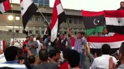 ميلانو تخرج دعماً لثورة سوريا _الجالية السورية
