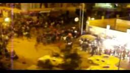 اشتباكات في الاسكندرية بين بلطجية وأهالي والجيش يتدخل