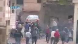 كتائب الأمن السوري تلاحق المتظاهرين في البيوت وتطلق النار عليهم