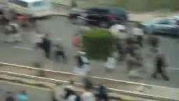 مسيرة مليونية تهز شوارع صنعاء لاسقاط النظام اليمنى