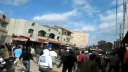 جرائم النظام السوري قتل عمد لمجموعة من المتظاهرين