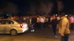 تجمهر المتظاهرين أمام مستشفى السلام الدولي بشرم الشيخ