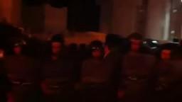لحظة سماع الحكم قبل خروج جمال مبارك من التحقيق