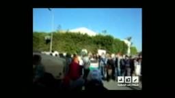 مظاهرة امام القنصليه الصهيونية بالاسكندريه