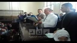 نطق الحكم فى قضية قتل المتظاهرين بالاسكندرية