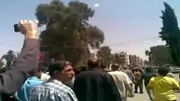 شبكة شاهد - مظاهرات درعا _سوريا