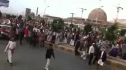 المسيرة المليونية في صنعاء شارع الستين 19-4-2011