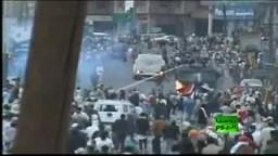 اشتباكات دموية بين المتظاهرين وقوات الامن اليمنية