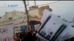 سوريا-- مظاهرة حاشدة بالجمعة العظيمة 22- 4