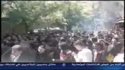 تقرير قناة الجزيرة في مجزرة الجمعة العظيمة بسوريا 22 / 4